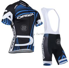 Orbea 2014 short sleeve cycling jersey bib shorts set bike bicycle wear  sports clothes jersey pants 5211899de
