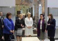 Wizyta pani prezydentowej Polski, Anny Komorowskiej i pani prezydentowej Estonii, pani Evelin Ilves.