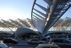 ポルトガルの近未来空間:リスボン、オリエンテ駅 : アーバン・ガーデン・ウォッチング