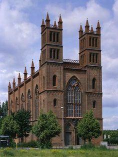 Friedrichswerdersche Kirche, 1824-1831 by K. F. Schinkel