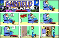 Garfield | Daily Comic Strip on January 23rd, 1994