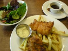 Sierra Nevada Brewery, Chico, CA Fish and Chips