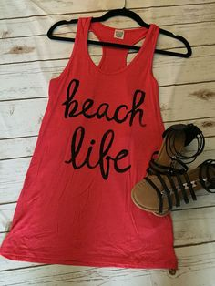 1a44a347db2c1 Beach Life Tank Top Beach Tanks
