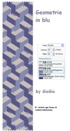 GioGio&Co: Geometrie in blu