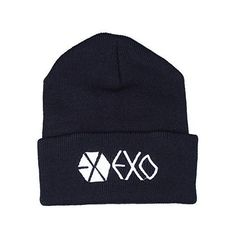 Amazon.com - Kpop Knitted Hat Exo - ($3.01) ❤ liked on Polyvore featuring accessories, hats and bucket hats