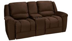 The Akron Power Recliner with Console is ideal for having a good time, relaxing, and letting go of your stress. With a chaise recliner that's controlled by Loveseat Recliners, Power Recliners, Sofa Bed, Old Houses, Love Seat, Bedding, Relax, Image, Furniture