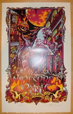 2013 Widespread Panic - NOLA Concert Poster by AJ Masthay | JoJo's Posters