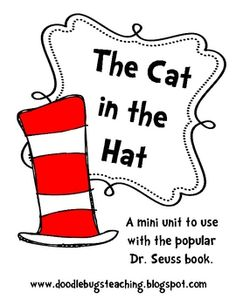 The Cat in the Hat is one of my favorite books and I love reading it with my first graders! Dr. Seuss is always a favorite author!This is a min...