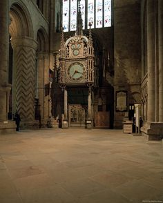 Durham Cathedral Clock