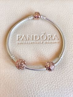 Rose gold #PANDORA WOMEN'S JEWELRY http://amzn.to/2ljp5IH