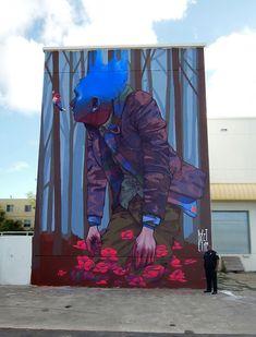 Polish graffiti duo Etam Cru, consisting of artists Sainer and Bezt