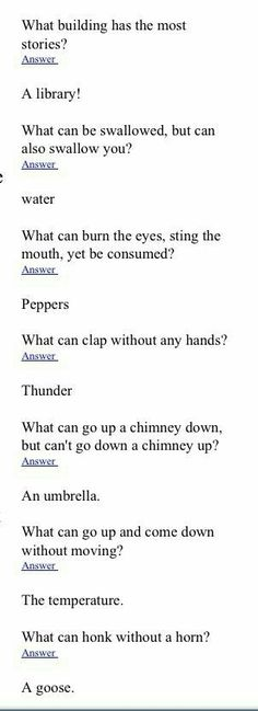 Funny Riddles With Answers Hilarious , Funny Riddles With Answers – Humor Funny Jokes And Riddles, Funny Puzzles, Dad Jokes, Riddles Kids, Jokes Kids, Mind Riddles, Mystery Riddles, Brain Teasers Riddles, Tricky Riddles