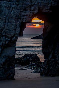 Sunset gate by Ronan Follic on 500px  )