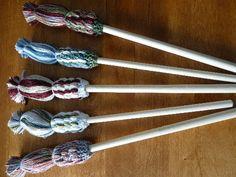 Faire une lavette à vaisselle - le site du Cercle de Fermières St-Gilbert - Techniques & patrons gratuits - Lavette à vaisselle - tricot Learn To Crochet, Knit Crochet, Knitted Hats, Weaving, Knitting, Tableware, Couture, Dessert, Diy