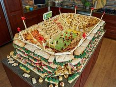 For your next party - better invite a lot of people!  The Perfect Stadia @FOOTBALLB00KS