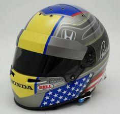Marco Andretti 2014 helmet