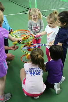 Idaho Tennis Association/BSU Kids Day - March 2013