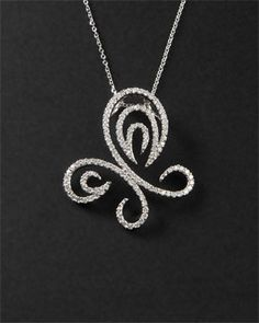 KC Designs 14K 0.89 cttw. Diamond Pendant