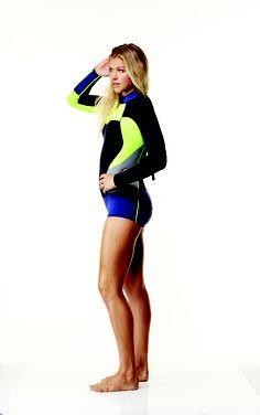 Rosy Hodge wearing the High Seas Long Sleeve Spring Suit   ROXYOutdoorFitness Sporty Girls 1e1fa4fc1