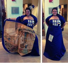 TARDIS dress, brilliant!    (via Reddit)  0ds8Xlb.jpg (952×960)