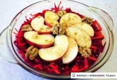 Téli vitaminsaláta céklával Ale, Dishes, Vegetables, Food, Ale Beer, Tablewares, Essen, Vegetable Recipes, Meals
