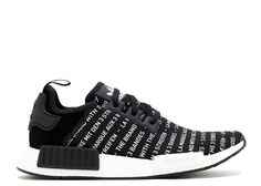 Get Nice NMD R1 Three Stripes Black White Sneakers with Shipping By DHL
