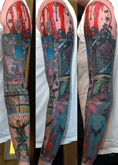 Watchmen - most amazing piece i've seen as a tat!