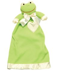 The Original Lovie™ Babies™--Frankie Frog Personalize it for a treasured keepsake