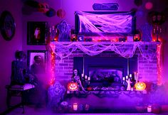 Turn your cozy home into a haunted house! #halloween #decor
