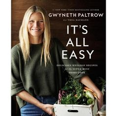 This #1 New York Times bestseller by Gwyneth Paltrow brings readers 125 simple recipes that can be completed in the time it would take you to order delivery. Ea