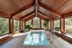 beautiful indoors wooden swimming pools - Szukaj w Google