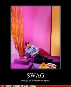 Spock Swag