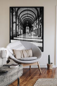 Black and white city print, Living room wall at, Travel photography, extra large print Black And White City, Black And White Wall Art, Black Walls, White Walls, Black White And Grey Living Room, Black And White Design, White Rooms, City Print, Animal Decor