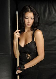 The Black Widow Pool Cue is a force to be reckoned with.  Custom Pool Cues like this are Seductively Deadly on the Table.