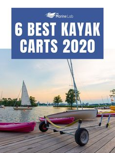 Moving your kayak from one place to another can be fairly difficult on your own but with the use of a kayak cart, it can be made into an effortless task. #kayakingadventures #kayakingfun #kayakingtrip #kayakingislove