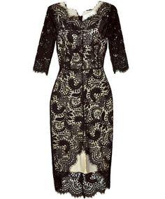 Black L/S Lace Horizon Dress ... Shift+R improves the quality of this image. Shift+A improves the quality of all images on this page.