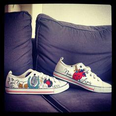 Sneakears, zapatillas pintadas a mano
