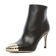 Dress Leather / Casual Stiletto Heel Bootie / Botki Z Rivet – EUR € 57.74