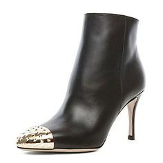 Dress Leather / Casual Stiletto Heel Bootie / Botki Z Rivet – EUR € 57.74