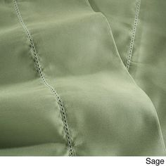 Superior Blend 600 Thread Count Hem Stitch Sheet Set