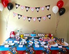 Jake and the Neverland Pirates Birthday Party