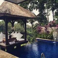 Private villa with our own pool to chill out in...hard life  #Bali #Indonesia #privatevilla #holiday #pooltime por: charliedelta144