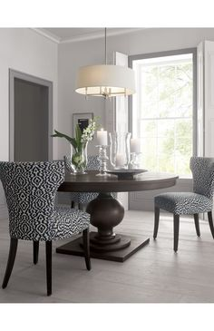 Sasha Upholstered Dining Side Chair | Crate and Barrel