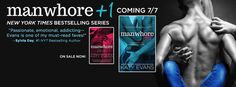 EXCERPT REVEAL: Manwhore +1 (Manwhore Series, #2) by Katy Evans - #SaintVsSinner - #PreOrder Now! - iScream Books