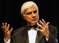 """There can be no reproach to pain unless we assume human dignity, there is no reason for restraints on pleasure unless we assume human worth, there is no legitimacy to monotony unless we assume a greater purpose to life, there is no purpose to life unless we assume design, death has no significance unless we seek what is everlasting.""   ― Ravi Zacharias"