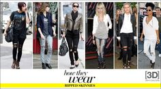 how to wear black jeans   What To Wear With Black Skinny Jeans Who what wear recently did a
