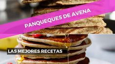 PANQUEQUES DE AVENA: Las mejores recetas | 21.42runners Hot Dog Buns, Pancakes, Natural, Brunch, Gluten Free, Bread, Breakfast, Foods, Vitamins