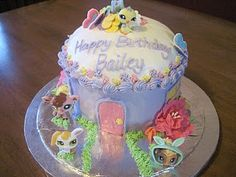 LPS cake's are so cute.