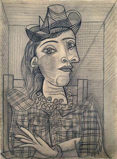 Portrait of Dora Maar   Flickr - Photo Sharing!