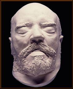 Antonin Dvorak's death mask